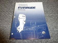 2005 Evinrude 100 115 135 175 HP DI Model Motor Service Repair Shop Manual SO