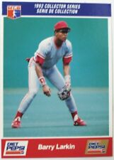 1992 Barry Larkin Diet Pepsi Collector's Series Card # 18 of 30