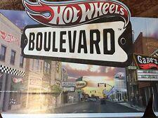 Cardboard Shipper Display Header Hot Wheels Hollywood Boulevard For Diecast Cars