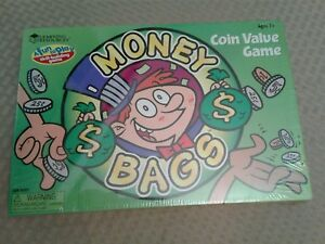 Learning Resources Money Bags Coin Value Game LER 5057 Skill Building New