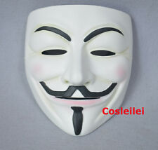 Halloween Guy Fawkes V FOR Vendetta Anonymous High Quality Resin Mask
