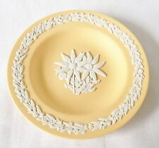 RARE Wedgwood Yellow Floral Pin Dish