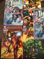Marvel Taco Bell Promo Comics/ Iron Man, Avengers, X-Men, Thor (two copies)