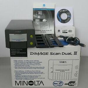 Konica Minolta Dimage Scan Dual III Photo, Slide & Film Scanner