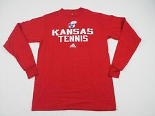 adidas Kansas Jayhawks - Red Cotton Long Sleeve Shirt (XS) - Used
