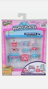 Happy Places Shopkins Decorator Pack - Dreamy Bear - Collect Various Pack Styles