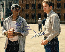 Shawshank Redemption signed Freeman Robbins 8X10 photo poster autograph Rp
