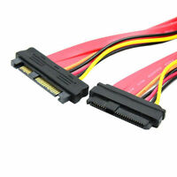 50cm 29pin SAS SCSI SATA Extension Cable Male to Female For Dell HP IBM Drives