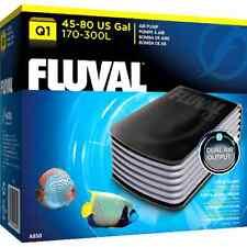 Fluval Q1 Aquarium Pompe à air Puissant Bruit réprimer chicane chambre Fish Tank