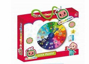 Cocomelon Childrens Educational Puzzles Toy Family Fun Jigsaw Clock Bingo Bus