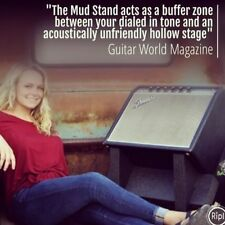 Best Amplifier Stand for Small Amps! Mini Mud Stand! Tilts amp to optimum angle