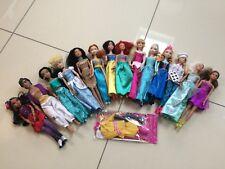 Princesas de Disney, Barbies y otras muñecas paquete 14 en total
