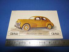 CHROMO 1950-1959 CHOCOLAT CEMOI DECOUPAGE AUTOMOBILE AUTO PEUGEOT 203