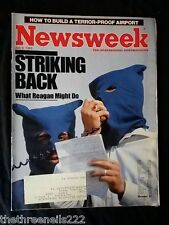 NEWSWEEK - TERROR PROOF AIRPORT - JULY 8 1985