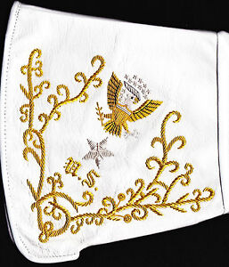 Civil War Gauntlets Union Brigadier General's Embroidered - Exclusive Offer