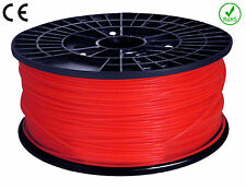 FILAMENT - FIL imprimante 3D PLA 1.75mm ROUGE  1Kg  CE-ROHS PLA175RED