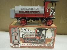DIECAST ERTL F122- 1910 TEXACO MACK TANKER/BANK- BOXED- H66