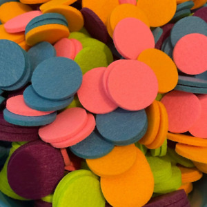 50 pack of Mixed Colour Hoover Disc