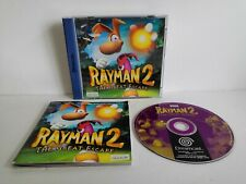 Jeu Dreamcast Rayman 2 The Great Escape Sega Ubisoft Avec Notice Pal