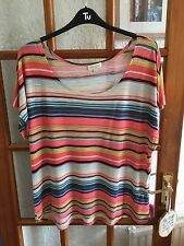 Monsoon Striped Top Size L