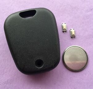 Peugeot 206 2 Button Remote Key Fob Case Repair Kit with screw