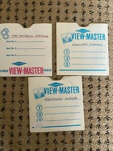 VIEWMASTER REELS THE ADDAMS FAMILY, TREASURE ISLAND, GULLIVER'S TRAVELS RARE
