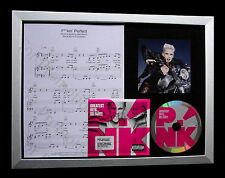 PINK F**kin Perfect GALLERY QUALITY MUSIC CD FRAMED DISPLAY+EXPRESS GLOBAL SHIP