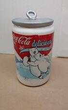 Coca Cola Can Polar Bear Cookie Jar Houston Harvest