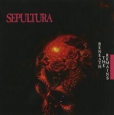"Sepultura ""Beneath the restano"" CD REMASTERED merce nuova!!!"