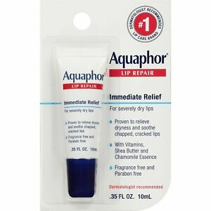 EUCERIN Aquaphor Lip Repair Treatment Relief Very Dry Chapped Lips 10ml