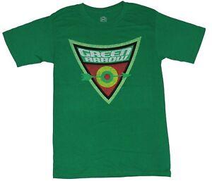 Green Arrow (DC Comics) Mens T-Shirt - Distressed Triangle Target Logo Image