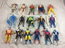 1990's Toybiz Marvel Comics X-Men Action Figure Lot Of (16) W/ Some Accessories