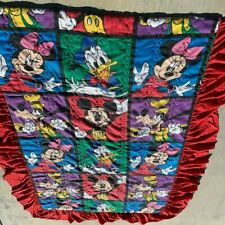 """Disney Mickey Mouse and Friends Twin Comforter Blanket 82"""" x 54"""""""