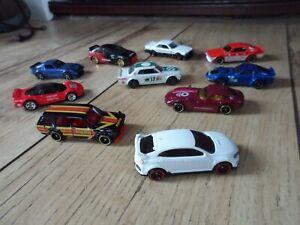 Toy Car Bundle/Lot Hotwheels x10 Jdm/Japanese Cars Nissan Skyline/Honda/Datsun