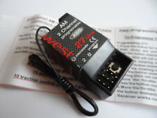 New Programmable ABS/Traction Control *27mhz AM* 2-Channel Receiver By West