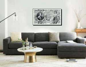 Large Poster $500 Russian Rubles of 1917 16x27 inches Canvas Print