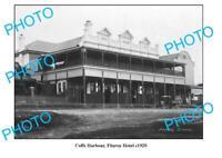 OLD 8x6 PHOTO COFFS HARBOUR FITZROY HOTEL c1920 NSW