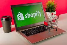 Ihr eigener Online-Shop mit Shopify  .. Kostenloses Angebot anfordern ..