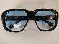 Vintage Ultra Goliath II Sunglasses Blue Gradient Lenses Frame Black Size 62 20