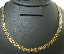 Echte Edelmetall-Halsketten & -Anhänger ohne Steine aus mehrfarbigem Gold mit Besondere Anlässe