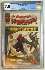 Amazing Spider-Man 23 -> 3rd Appearance Green Goblin -> CGC 7.0 (OW Pages)
