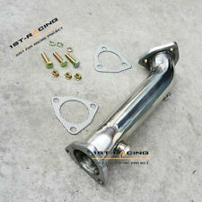 Exhaust Downpipe Dump Pipe + Gasket for 97-05 Audi A4 B5 B6/98-05 VW Passat 1.8T