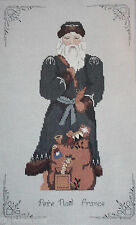 1987 Pere Noel France Father Christmas Counted Cross Stitch Kit New Sealed