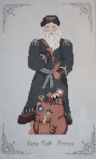 1987 Major Presentations Pere Noel France Christmas Counted Cross Stitch Kit