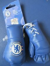 CHELSEA BLUE BOXING GLOVES CAR HANGER - BRAND NEW