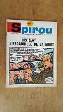 SPIROU N°1526 DU 13 JUILLET 1967  / AVEC MINI RECIT PAR DENIS / B+.