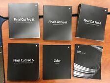Final Cut Pro 6 User Manual.  FREE SHIPPING!
