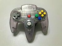 Nintendo 64 OEM Official Authentic Controller - Atomic Purple - Good Stick #212