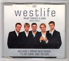 (HC30) Westlife, What Makes A Man - 2000 CD