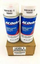 GM ACDelco White Diamond Pearl Paint 5oz Spray Code 98U WA800J GBN & Top Coat